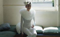 Laura Veazey in her fox costume