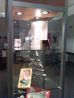 Staff Art Exhibition based around the book Alice in Wonderland #Epsom