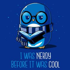 I Was Nerdy Before It Was Cool - This t-shirt is only available at TeeTurtle! Exclusive graphic designs on super soft 100% cotton tees.