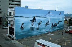 robert+wyland+100+whale+paintings | Robert Wyland Mural