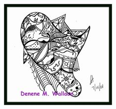 Abstract Pen and Ink Art. Printed onto high by truthinpenandink, $25.00