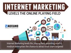 Because Internet Marketing Levels the Online Playing Field Internet Marketing Company, Content Marketing, Digital Marketing, Business Website, Online Business, Web Analytics, Display Advertising, Seo Services, Search Engine