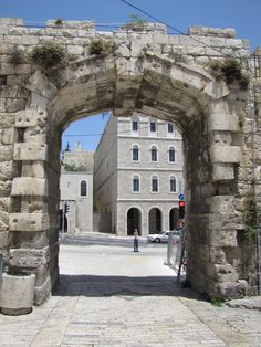 8. The New Gate: This is the only Old City entryway not part of the original design of the 16th-century walls. It was breached in the waning days of the Ottoman Empire to allow Christian pilgrims quicker access to their holy places within the ramparts.
