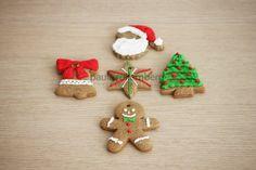 Biscoitos decorados p/ pendurar