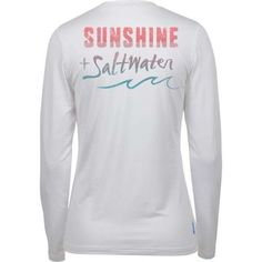 199f98a7d3fec Salt Life Women s Sunshine And Saltwater SLX Long Sleeve Performance Shirt