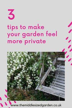 Herb Garden Pallet, Pallets Garden, Garden Pots, Easy Garden, Garden Ideas, Landscaping Ideas, Garden Landscaping, Garden Privacy Screen, Low Maintenance Garden Design