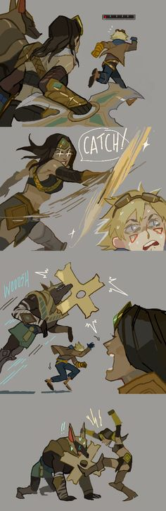 [LoL strip] NASUS NO by zuqling on DeviantArt
