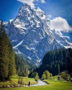 """""""What are men to rocks and mountains"""" Are you down for a Switzerland adventure? Tag a friend that would explore here too! Places To Travel, Places To See, Travel Destinations, Belle Image Nature, Wonderful Places, Beautiful Places, Landscape Photography, Nature Photography, Nature Pictures"""