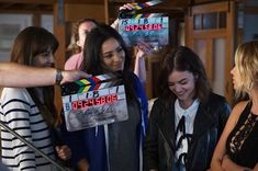 It's all smiles behind the camera. #PLLEndGame #PrettyLittleLiars