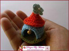 Crochet Gnome House Pattern- A Unique Fairy Home