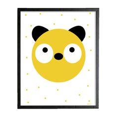 Poster 30x40 cm | Panda