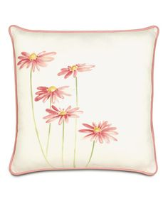 Love this Daisies Forty Winks Pillow on #zulily! #zulilyfinds