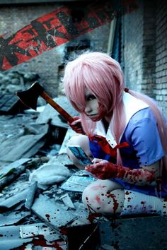 Yuno Gasai Cotys fave anime chick and mine