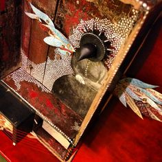 Mary Ann Crago, Soul On Fire (detail) 2013, Mixed Media Assemblage