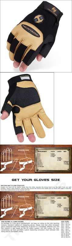 Riding Gloves 95104: Heritage Farrier Work Gloves Horse Equestrian Black Tan -> BUY IT NOW ONLY: $34.95 on eBay!