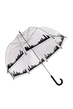 The Umbrella - New York Skyline Bubble Umbrella
