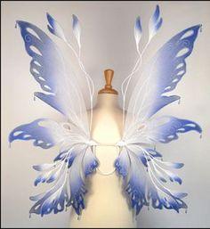 Tutorial Asa de Fada [fairy wing tutorial] | .