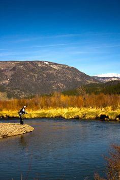 Fisherman on the Conejos River