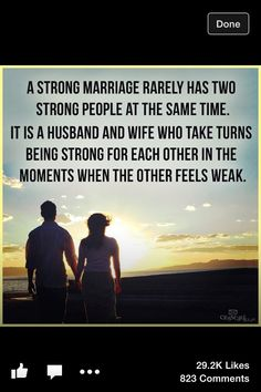 A true partnership - the best kind of relationship... no matter what combo of people, as long as they truly love.