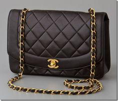 Vintage Chanel bag.