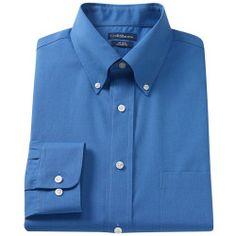 """1436737_True_Blue%3Fwid%3D800%26hei%3D800%26op_sharpen%3D1 Best Deal """"Big & Tall Croft & Barrow Core Solid No Iron ButtonDown Dress Shirt"""