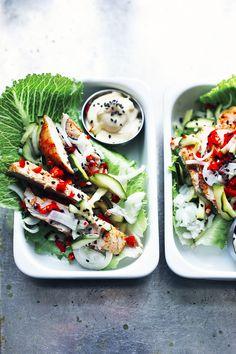 Korean salad wraps - Suvi sur le vif | Lily.fi