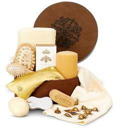 the honey spa treatment gift set!