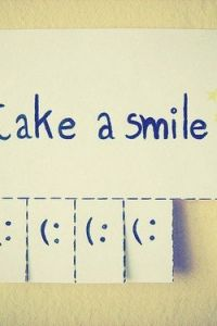 Take a smile! You should always smile. No matter what the situation. At least fake a smile, when ever you don't want to- fake it! Take A Smile, Make You Smile, Smile Smile, Happy Smile, I'm Happy, Keep Calm, Happiness Is A Choice, Thing 1, Cheer Up