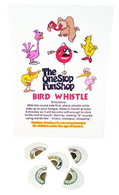 Bird Whistle (5 Pack), 2015 Amazon Top Rated Noisemakers #Toy
