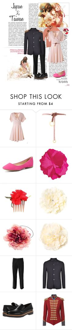 """""""Happy Valentine's Day!!"""" by kjvdolly ❤ liked on Polyvore featuring Kenzo, Charlotte Russe, Dolce&Gabbana, Armani Collezioni, Salvatore Ferragamo, Pinky Laing, japan, Hetalia and taiwan"""