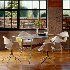 Nelson Swag Leg Rectangular Dining Table. $1,329