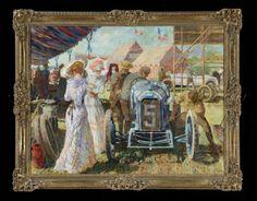 '1914 Grand Prix de France' by de Bruyne  (Dexter Brown, born 1942).