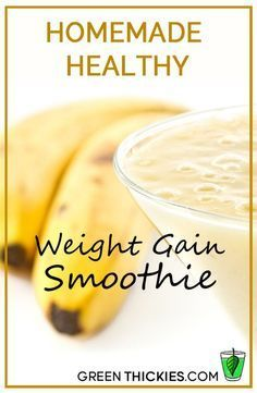 Do you struggle to gain weight? You don't need to eat junk food to put on weight. This homemade healthy weight gain smoothie will help you gain weight in a natur(Junk Food Recipes) Weight Gain Journey, Weight Gain Meals, Healthy Weight Gain, Fast Weight Loss, How To Lose Weight Fast, Weight Gain Plan, Smoothies For Weight Gain, Weight Gain Drinks, Losing Weight