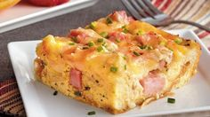 A brunch favorite gets an oven-baked update, complete with ham and tangy Gruyere cheese.