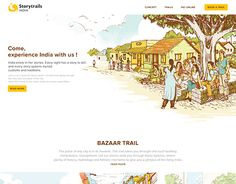 "Check out new work on my @Behance portfolio: ""Storytrails"" http://be.net/gallery/46175549/Storytrails"