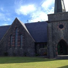 Stone church in Paihia, Bay of Islands NZ