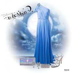 """To the Moon & Back"" by jenifer-lynn on Polyvore"