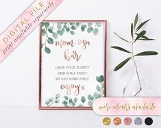 PDF copy only, Instant Download THIS LISTING IS SENT VIA DOWNLOAD YOU ARE PURCHASING A DIGITAL ITEM No physical item will be posted to you If you are ordering multiple signs, please check that the font colour matches! ie gold, silver copper and rose gold vs gold sparkle, silver