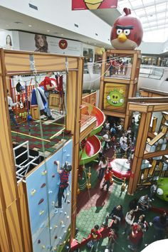 Parque Angry Birds - Mooca Plaza Shopping 3 - MARIO RODRIGUES