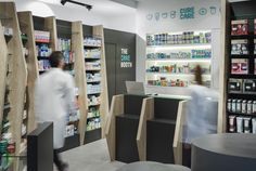 Cure + Care Pharmacy | Indoor Signage Design
