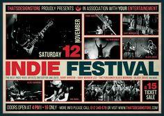 Indie Fest Flyer Template psd V.3