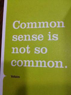 Common Sense Quotes