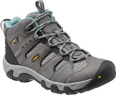 The all-around best hiker for all-season use. Headed for a day hike or weekend overnight? Grab your KEEN Koven Mid WP hiking boots and go! Unexpected showers are no problem thanks to the waterproof, breathable membrane and waterproof leather.