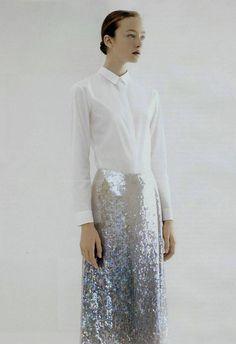 my ideal eveningwear//Jil Sander S/S 2007