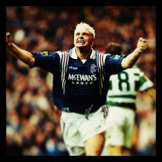 Paul Gascoigne Glasgow Rangers