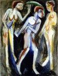 Ernst Ludwig Kirchner - Mujeres bailando
