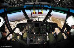 Super Puma Cockpit- Air Rescue 5 Helicopter. Dec 9, 2013. (Photo Credit: S. Robinson)