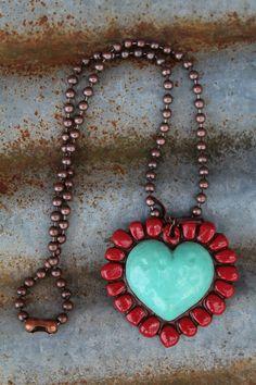 Sookie Sookie: Grande Corazon Necklaces - The Lace Cactus