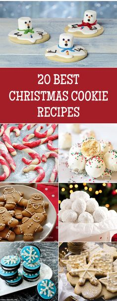 20 BEST Christmas Cookie Recipes To Try This Holiday Season