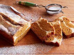 Get Cheesecake-Stuffed Pumpkin Bread Recipe from Food Network
